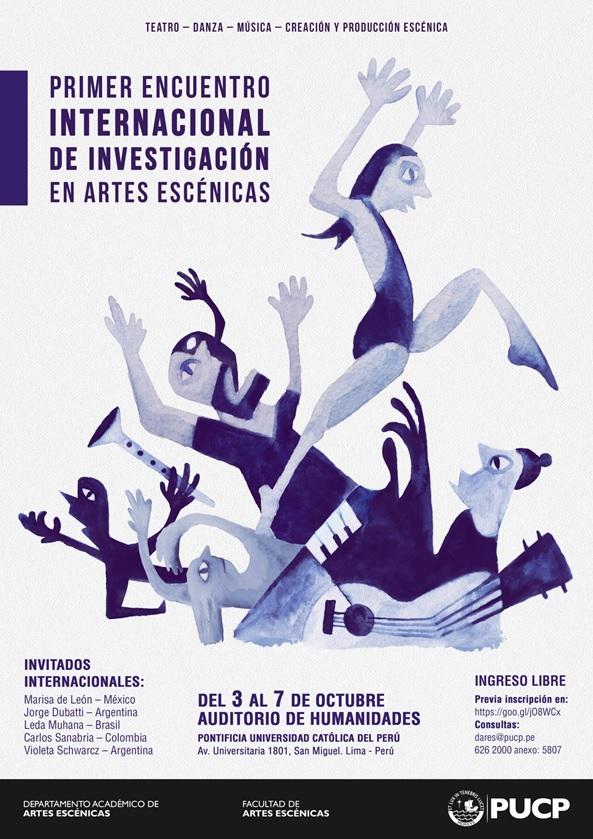 Primer Encuentro Internacional de Investigación en Artes Escénicas
