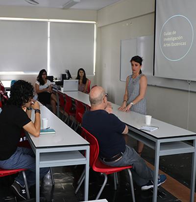 Inicia el trabajo del Equipo de Investigación de profesores de Artes Escénicas