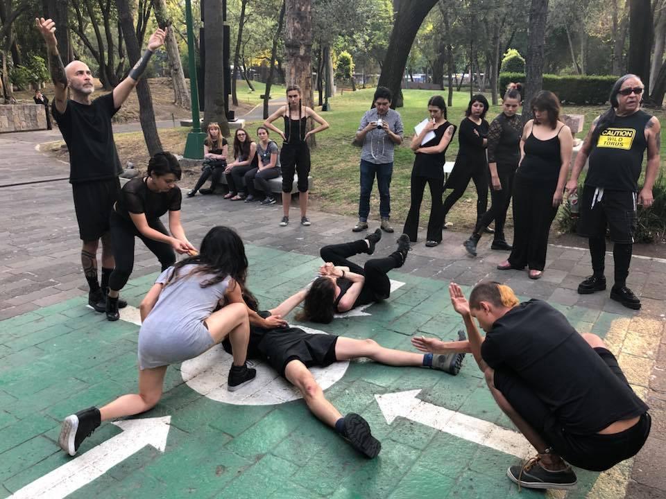 Docente es invitada a participar en Taller Internacional de Performance en la Ciudad de México