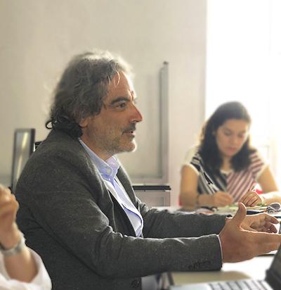 Visita del Dr. José Antonio Sánchez