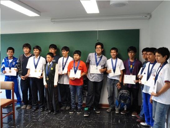 Olimpiadas internacional de matemáticas 2013 - Premiación