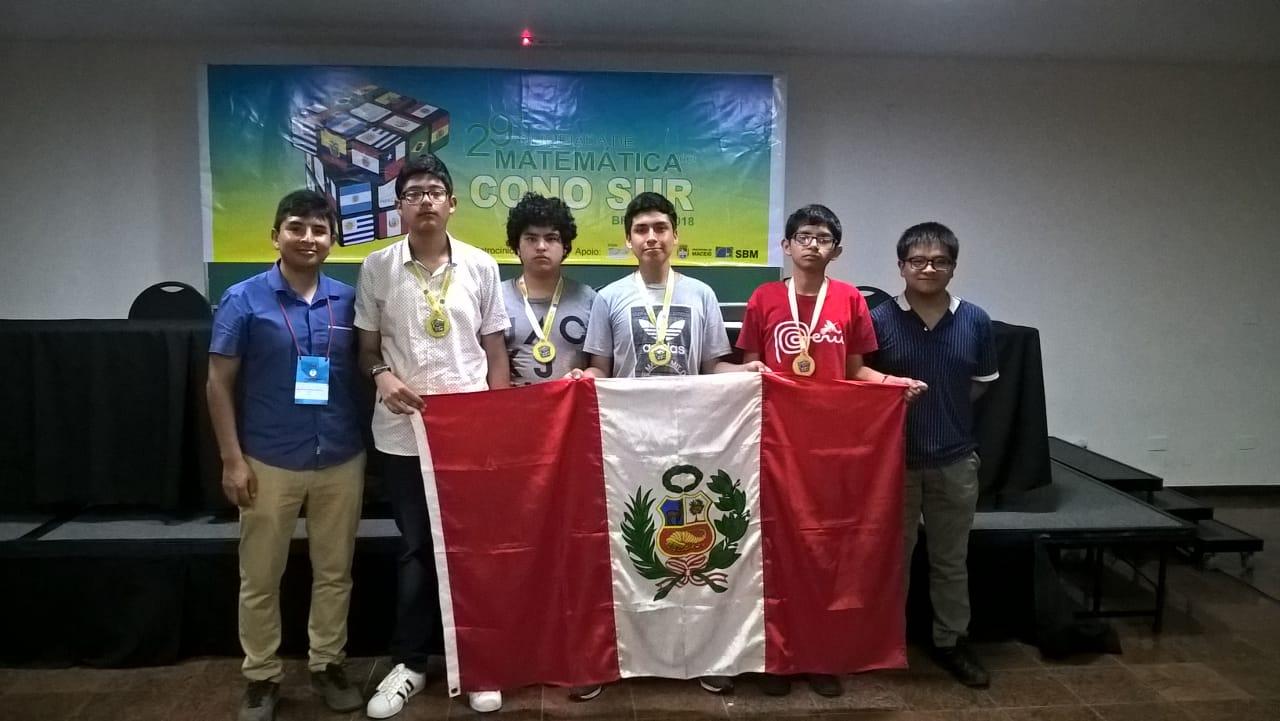 29 Olimpiada Matemática de Países del Cono Sur - Resultados