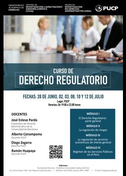 Curso de Capacitación en Derecho Regulatorio