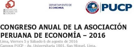 Congreso Anual de la Asociación Peruana de Economía