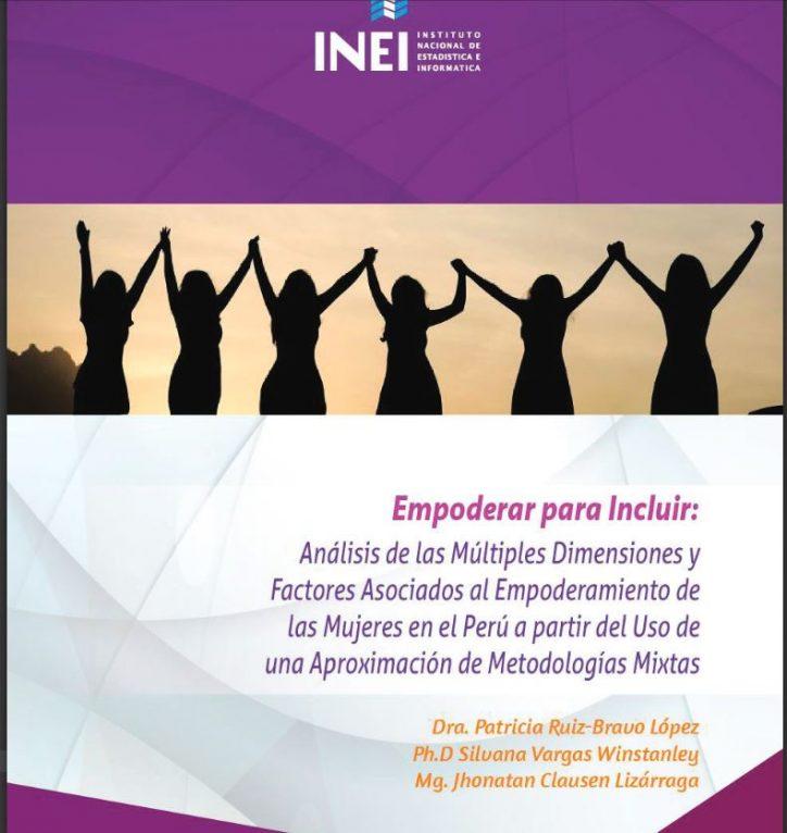 """Publicación del INEI: """"Empoderar para incluir"""" de Patricia Ruiz Bravo, Silvana Vargas y Jhonatan Clausen"""