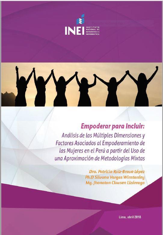 Publicaciones seleccionadas en el Concurso Nacional de Investigaciones del INEI