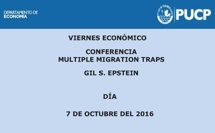 Viernes Económico | Multiple migration traps.