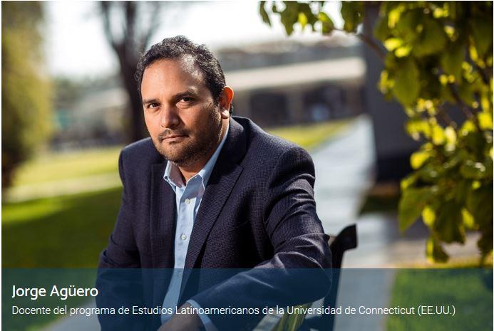 """Artículo de Jorge Agüero """"Hay un costo de la violencia en términos de productividad"""" PuntoEdu, 11 de junio 2018."""