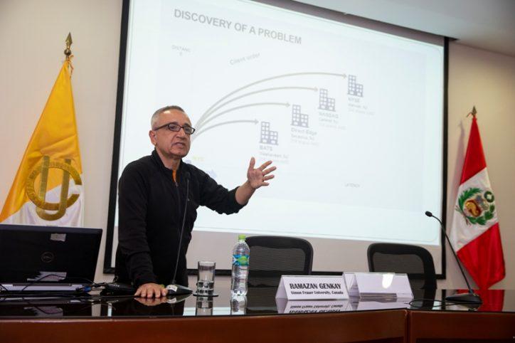 Conferencia | ¿Es el mercado que vemos en pantalla aún el mercado? El impacto de la negociación de alta frecuencia.