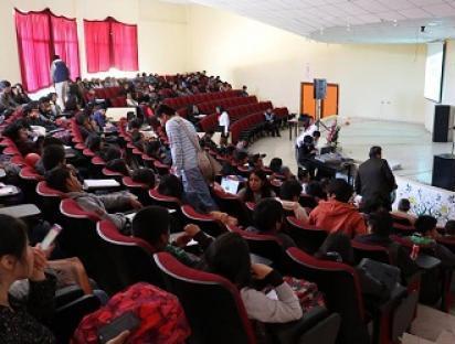 Participación de profesores en Semana del Economista - Facultad de Economía de la Universidad Nacional del Centro. Huancayo.