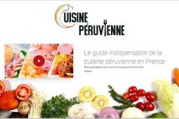 Perú presenta guía gastronómica Cuisine Péruvienne en Francia