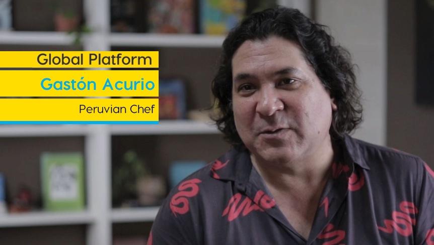 Gastón Acurio: «Nuestra misión es difundir nuestros productos para llevar bienestar a los pueblos alejados del Perú»