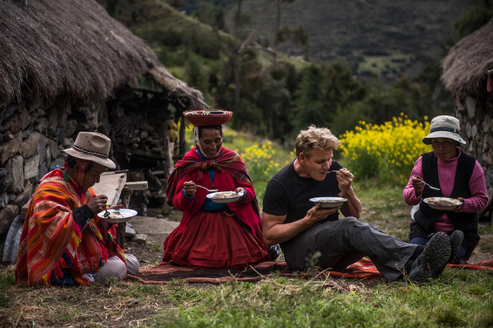 NatGeo: Gordon Ramsay viaja al Valle Sagrado para nueva serie documental