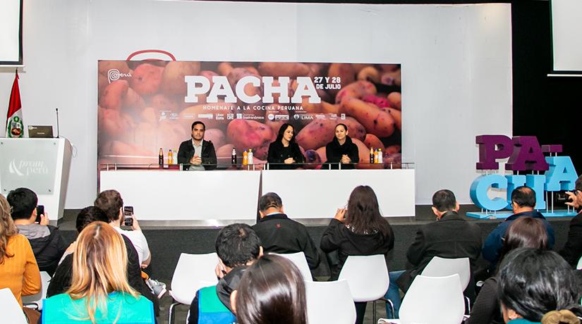 Gastronomía PUCP en Pacha-Feria Gastronómica
