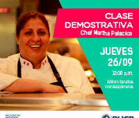 Clase Demostrativa con la Chef Martha Palacios