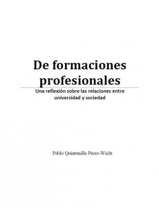 formaciones profesionales