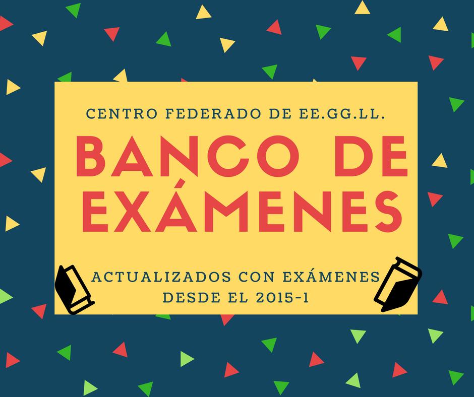 BANCO DE EXÁMENES VIRTUAL - PUCP | Estudios Generales Letras