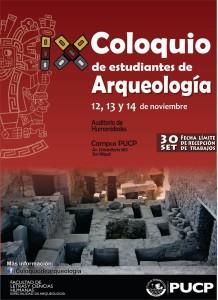 IX Coloquio de estudiantes de Arqueología l 2014