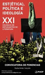 XXI Coloquio de estudiantes de Literatura