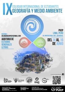 IX Coloquio Internacional de Estudiantes de Geografía y Medio Ambiente