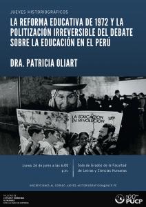 La reforma educativa de 1972 y la politización irreversible del debate sobre la educación en el Perú