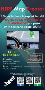 Exposición del Proyecto de Mapamiento Colaborativo
