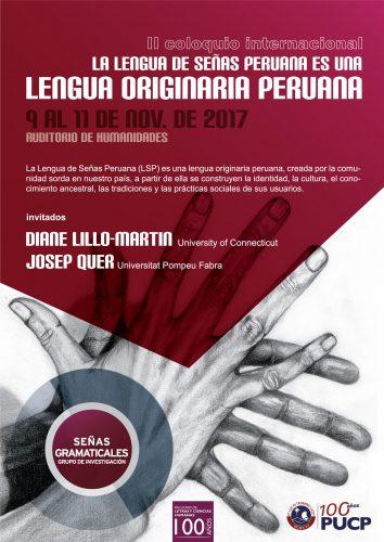 II Coloquio Internacional sobre la LSP