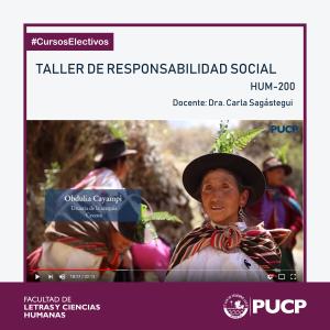 Taller de responsabilidad social   (HUM-200)