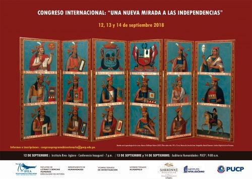 """Congreso Internacional """"Una nueva mirada a las independencias"""""""
