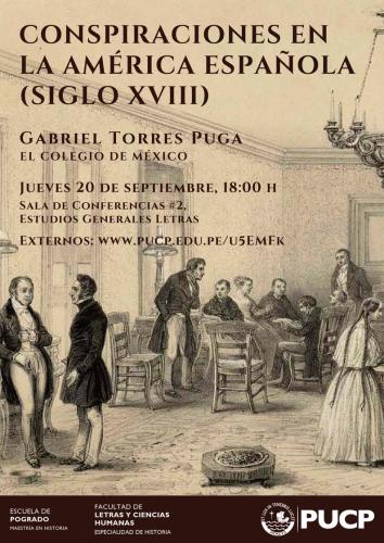 CONSPIRACIONES EN LA AMÉRICA ESPAÑOLA (SIGLO XVIII)