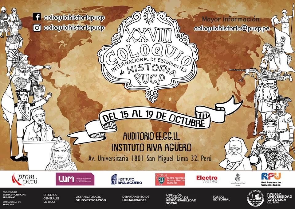 XXVIII Coloquio Internacional de Estudiantes de Historia