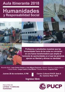 Aula Itinerante | Humanidades y Responsabilidad Social