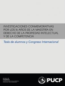 Tesis de alumnos y Congreso Internacional